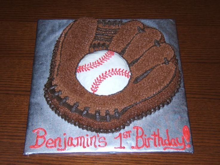 Image detail for -Sports Themed Cakes :: Baseball Glove Birthday Cake picture by ...  s846.photobucket.com