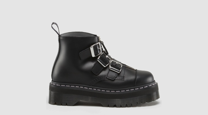 Agyness Deyn Doc Marten Collab --> AGGY STRAP // I kinda miss my Herman Munster shoes of the 90s
