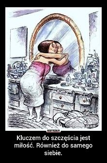Zobacz zdjęcie Kluczem do szczęścia jest miłość. Również do samego siebie.