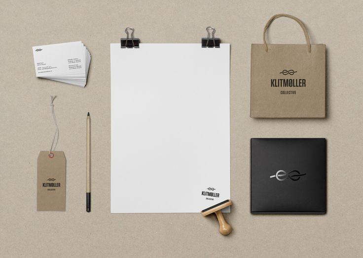 klitmøller collective — visuel identitet  design af koncept og visuel identitet til fashion brandet klitmøller collective.