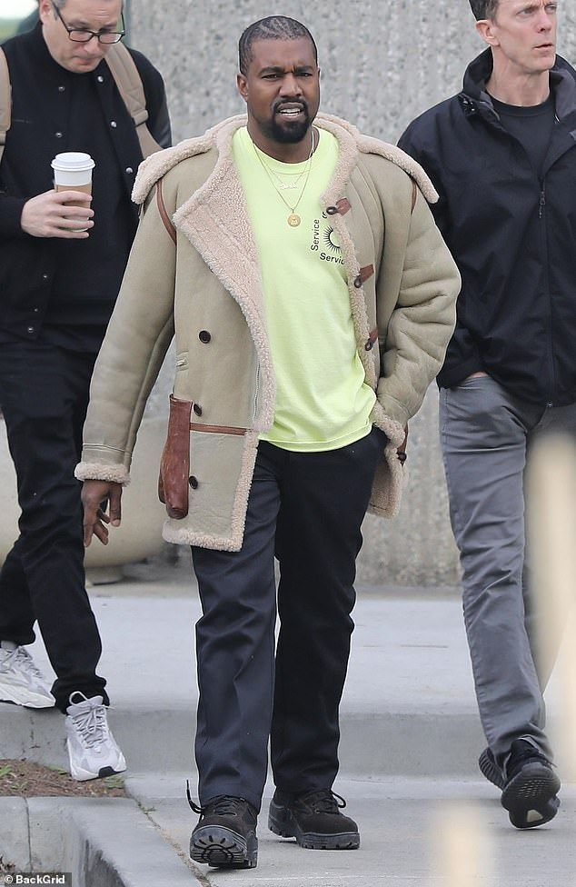 Hard At Work Kanye West Was Spotted As He Left A Business Meeting In Calabasas On Wednesday After Justin Bieber Debuted His Kanye West Kanye Kanye West Songs