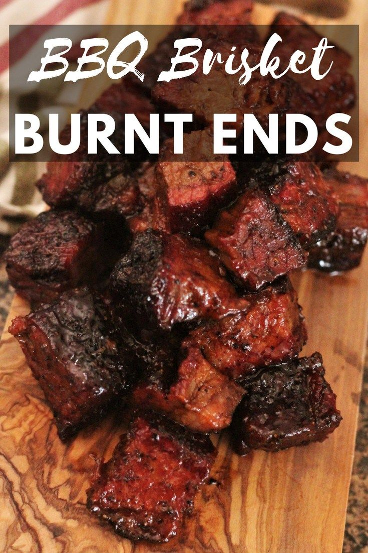 These BBQ Brisket Burnt Ends are a Kansas City classic! Learn how to make them the traditional way on your smoker!