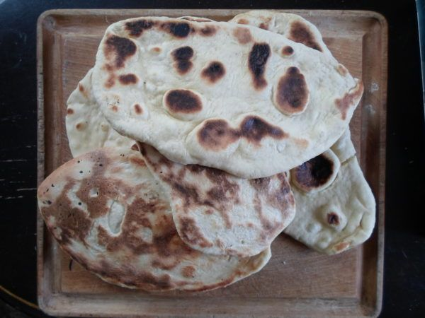 cast iron skillet naan i like them torn up like crusty breads to scoop and clean my bowl with naan cast iron skillet iron skillets pinterest