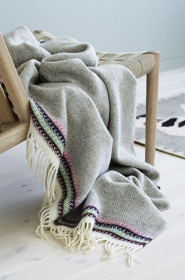 Ankle blankets by Anderssen & Vol for Røros Tweed