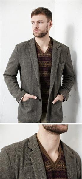 Свитер под пиджак