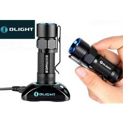 Olight S10R Baton III Rechargeable Pocket Flashlight w/Charging Dock - 600 Lumens