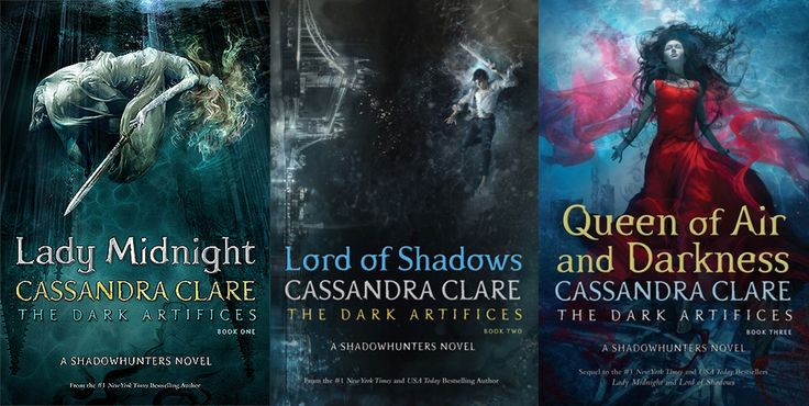 The Dark Artifices by Cassandra Clare - sequel to The Mortal Instruments
