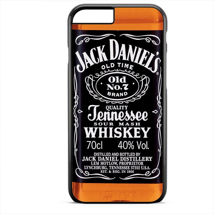 JACK DANIEL'S WHISKEY Apple Phonecase For Iphone 4/4S Iphone 5/5S Iphone 5C Iphone 6 Iphone 6S Iphone 6 Plus Iphone 6S Plus