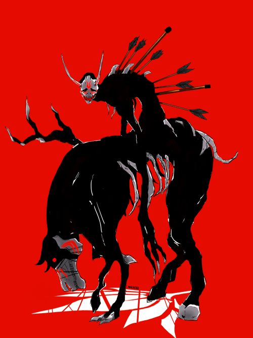 The nuckelavee is a great name for this grim. Look up the name then its make sense for to name the grim nuckelavee.
