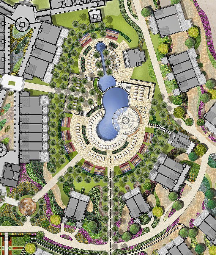 Master Plan Drawings: 45 Best Resort Concept Images On Pinterest