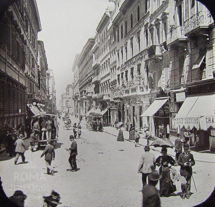Via del Corso (1890 circa)