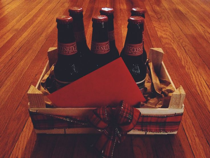 Repurposed clementine crates hold Christmas cheer