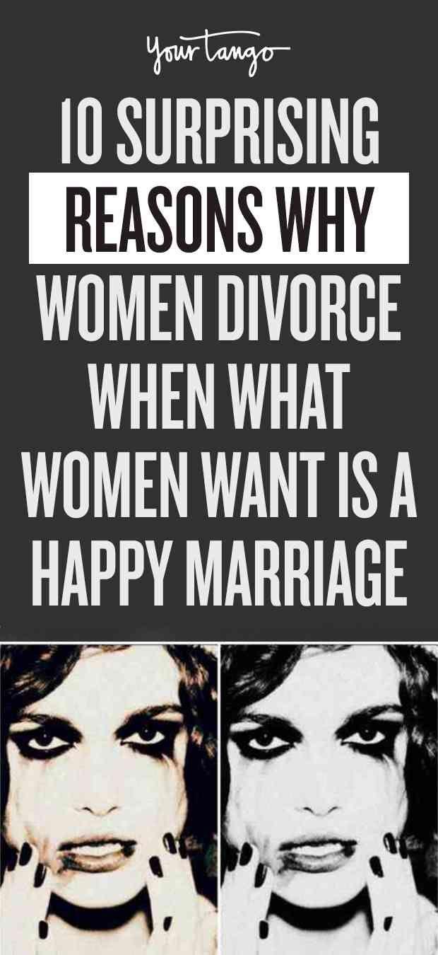 Reasons why women divorce