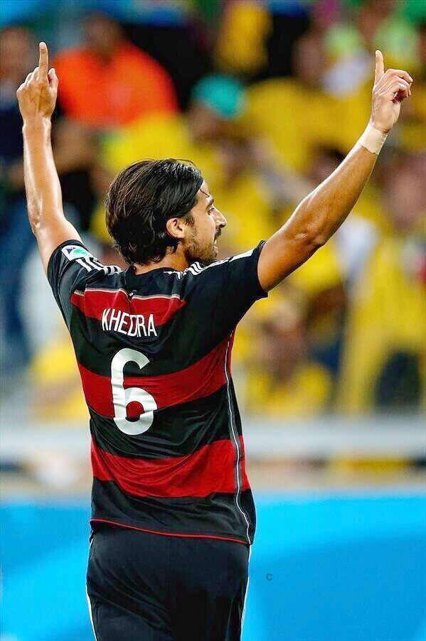 Sami Khedira Brazil 2014