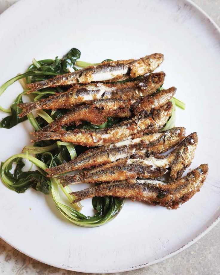 This Pan-Fried Anchovies recipe is a winner.