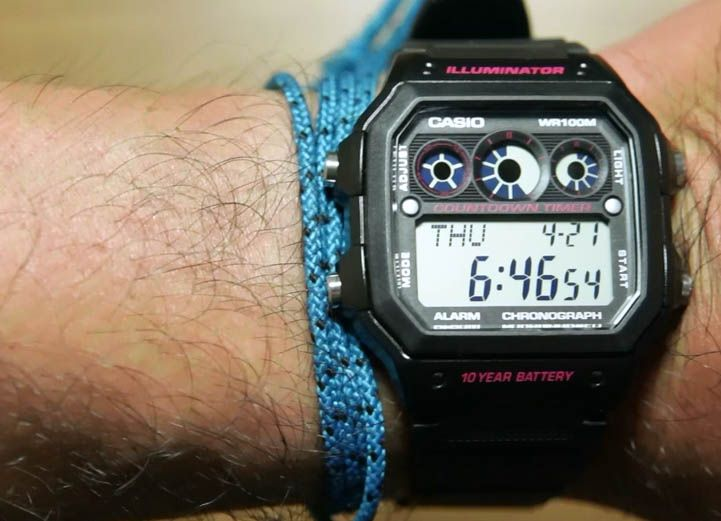 Review Casio Standard AE-1300WH-1A2V
