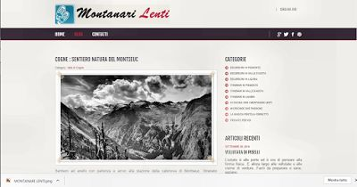 IL BLOG DELLA MONTAGNA: CAMMINARE LENTO IN LGURIA,PIEMONTE,VALLE D'AOSTA