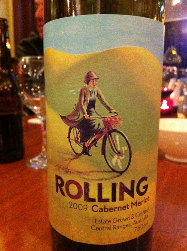 Mudgee wine - Rolling