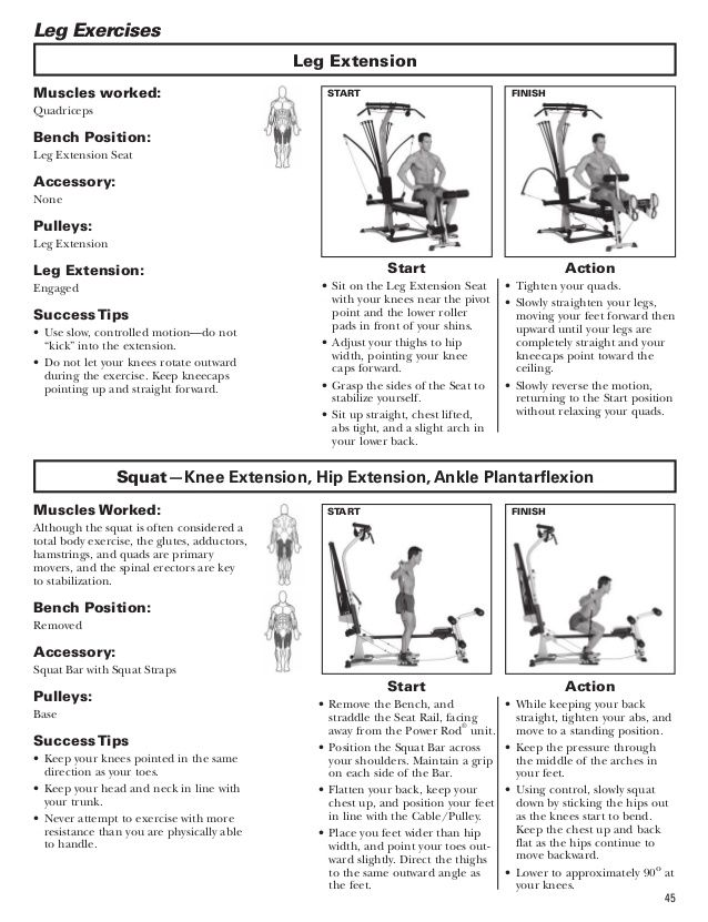 Bowflex Workout Plan : bowflex, workout, Bowflex, Blaze, Workouts, Manual, Workout,, Workout, Routine,