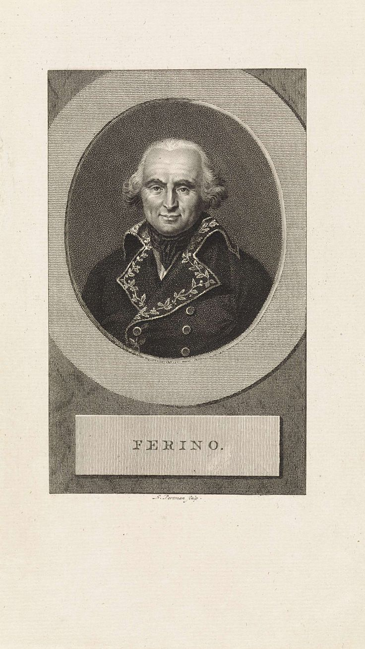 Ludwig Gottlieb Portman | Portret van de Franse generaal Pierre Marie Barthélemy Ferino, Ludwig Gottlieb Portman, 1806 |