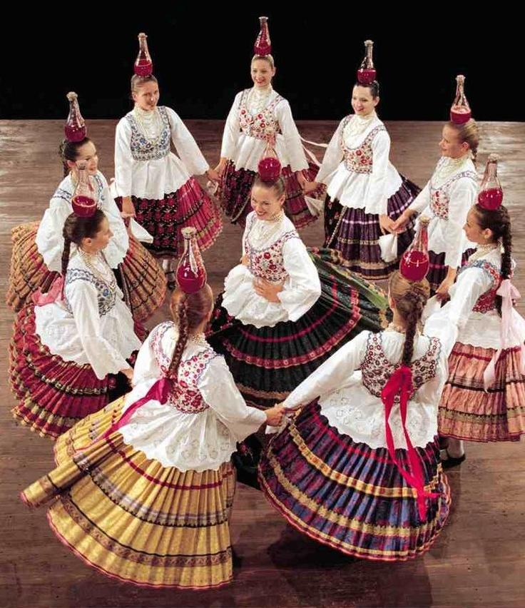 glass-dance Hungarian folk art and tradition
