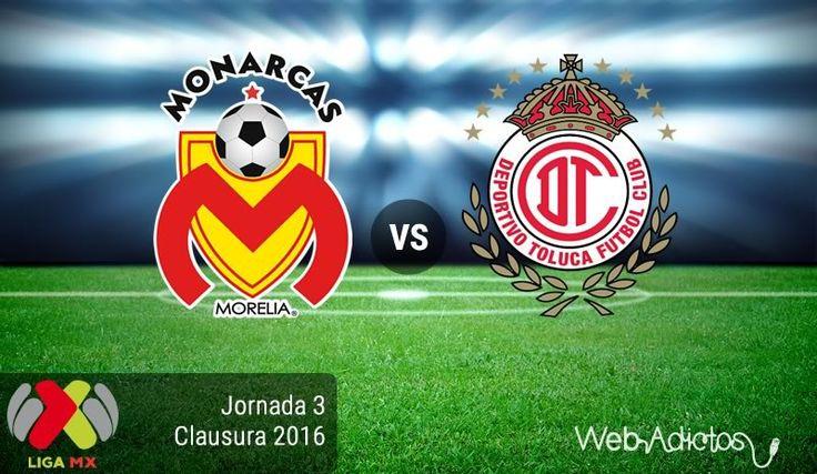 Morelia vs Toluca, Jornada 3 del Clausura 2016 ¡En vivo por internet! - http://webadictos.com/2016/01/23/morelia-vs-toluca-clausura-2016/?utm_source=PN&utm_medium=Pinterest&utm_campaign=PN%2Bposts