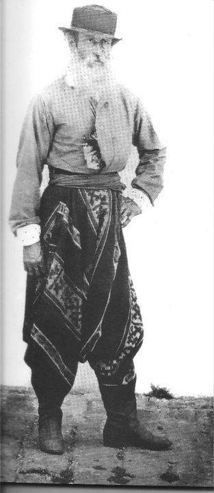 """Juan Barzina, quien en 1890 era capataz de la Estancia """"San Juan"""" en Quilmes."""