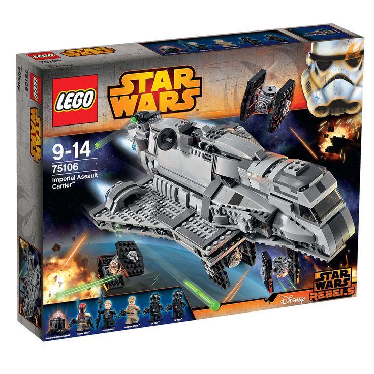 LEGO® 75106 - LEGO® Star Wars™ - Imperial Assault : http://www.maginea.com/fiche/P201502230174.html