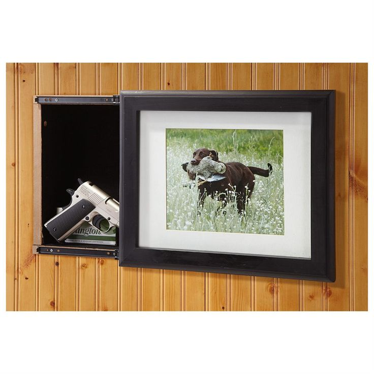 8 Ways To Hide Your Tv In Plain Sight: Guide Gear Hide-A-Gun Sliding Picture Frame