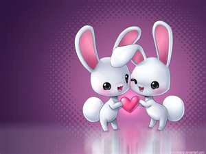 cute little  cartoon bunnys!!