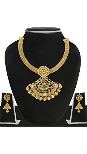 Indian Bollywood Gold Plated Traditional Style Red & Gree... https://www.amazon.com/dp/B072266KMQ/ref=cm_sw_r_pi_dp_x_MUY9ybEKMBWN3