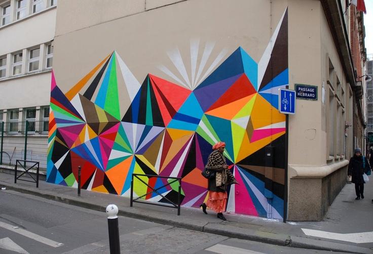 Passage Hébrard Paris Xè: Artists, Paris Xè, Color Design Prints Mur, Murals Street, Hébrard Paris, Graffiti, Street Art, Street Murals, Art Rooms