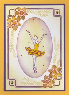 Cards, Cats and Coffee: Graceful Dancer