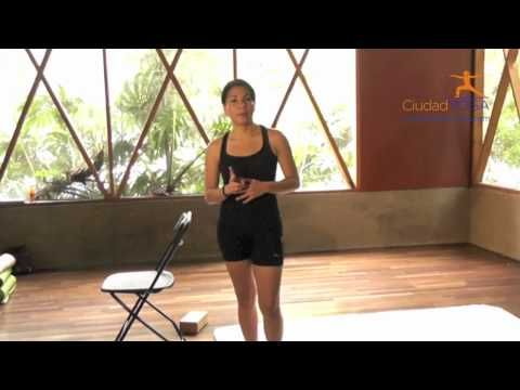 Yoga para principiantes saludos al sol