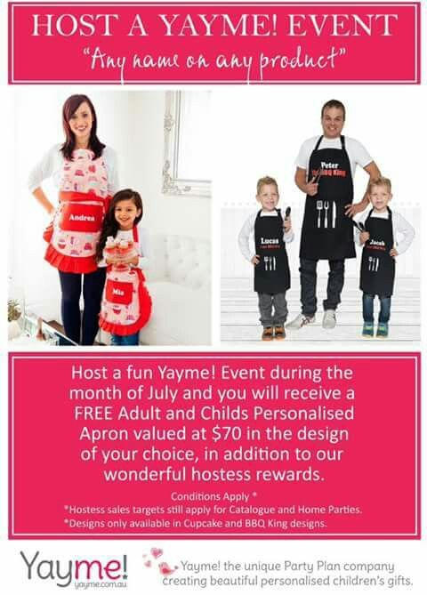 July Hostess Rewards