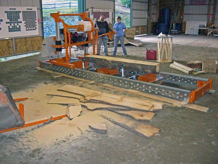 Cheap Portable Sawmills >> Homemade Bandsaw Sawmill - World News   fruit   Pinterest   Homemade, Bandsaw mill and Woodworking