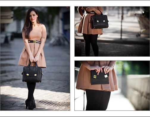 Go Ale!! So proud of you! - The adorable Alexandra Satine and her bags