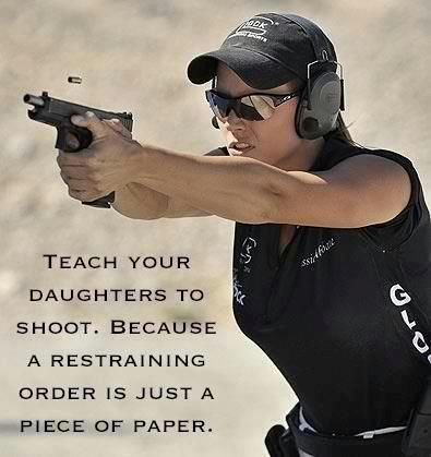 Your damn right. No one will ever make my daughter feel scared or worried. I can and will go to jail to protect what I love.
