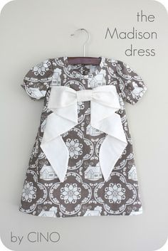 love this dress - simple and cute tutorial