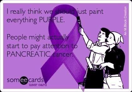 Pancreatic Cancer Awareness!
