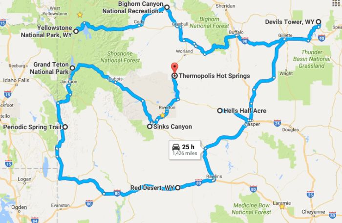 A natural wonder is defined as a natural site or natural monument that has not been significantly altered by humans. These natural wonders typically evoke a sense of amazement and awe. Here's a natural wonders road trip that will show you that there's more to Wyoming than meets the eye.