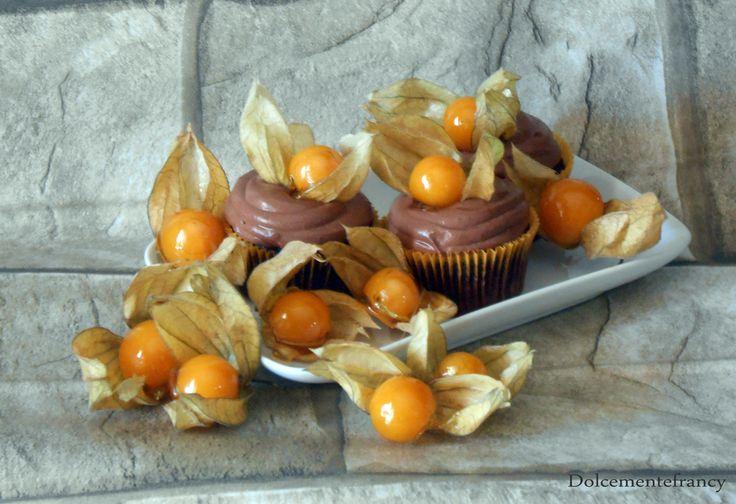Alchechengi Cupcakes
