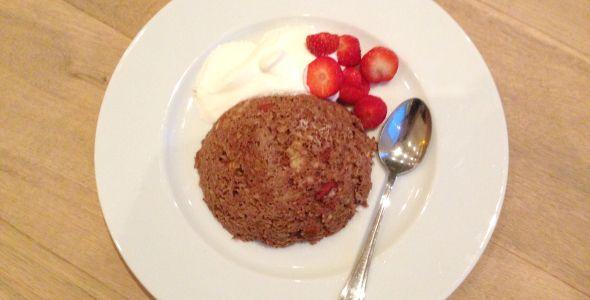 Lekker, eenvoudig, gezond en toch ander ontbijtje/tussendoortje. Ook handig in muffin bakvorm en heerlijk te vullen met (diepgevroren) bosvruchtjes alvorens ze in de oven te plaatsen!