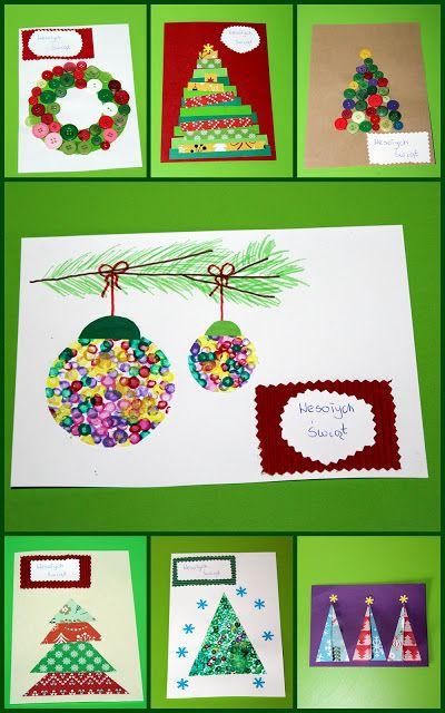 Kusiątka: Kartki Świąteczne z maluszkiem