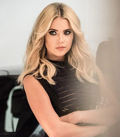 Ashley Benson - BTS Photos from a recent PLL photoshoot