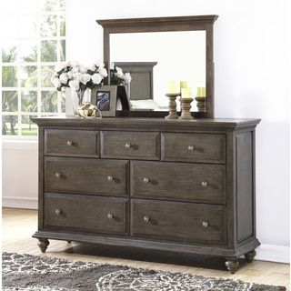 Shop for ABBYSON LIVING Marseilles City Grey Dresser and Mirror Set. Get free shipping at Overstock.com - Your Online Furniture Outlet Store! Get 5% in rewards with Club O!