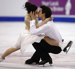 Sad to say I love their reality show hahaha and them! Tessa virtue and Scott Moir of Canada!