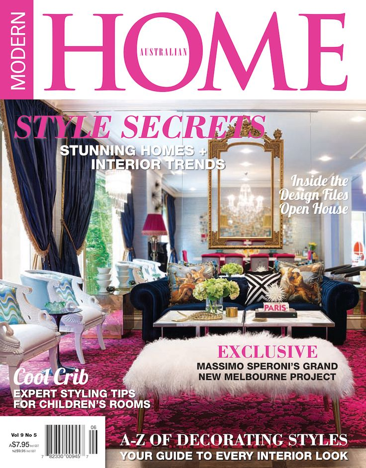 modern australian home modern home is an exciting new contemporary home decorating magazine - Home Decorating Magazines