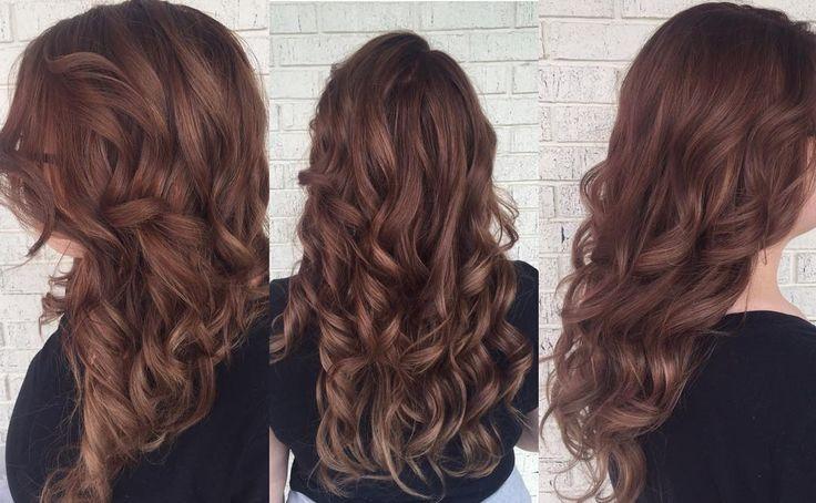 """#mochahair #mochacolor #sombre #hair #color #matrix #socolor #hairporn #ombresunited #hairunited #stylist #hairstylist #curlyhair #daytonhair…"""