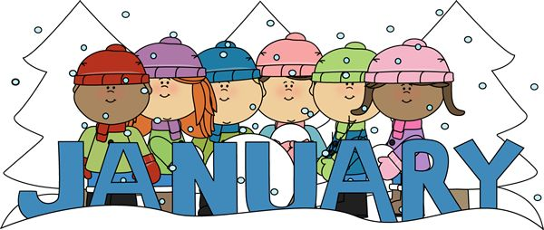 9 best month clip art images on pinterest seasons months calendar rh pinterest com free january birthday clipart Free Snow Clip Art